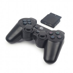 GMB Gaming Draadloze gamepad met vibratie (PC,PS2&3) JPD-WDV-01