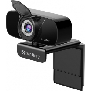 Sandberg 134-15 webcam 2 MP 1920 x 1080 Pixels USB 2.0 Zwart